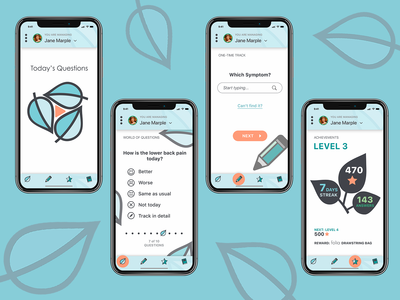 App Concept for Caretakers of the Elderly