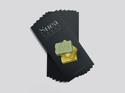 Shea Sassy Flyer artisan identity brand identity packaging logo branding identity identity design design graphic design branding