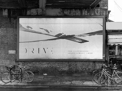 The Drive Billboard Design music artwork music band band music mockups logo behance branding identity design identity design graphic design branding