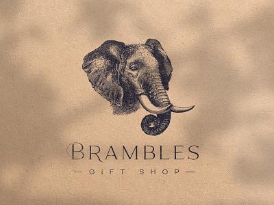 Brambles Logo Versions illustration behance logo brand identity branding identity identity design graphic design branding