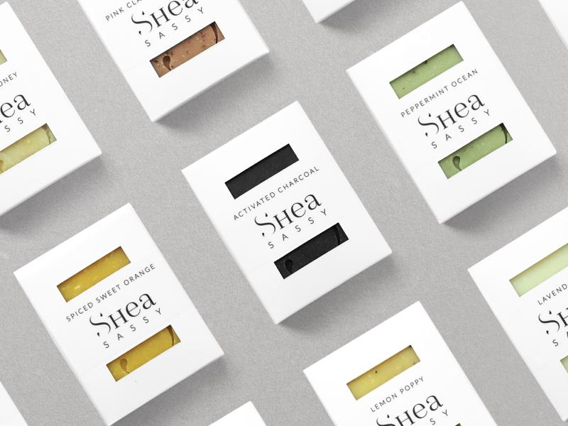Shea Sassy Packaging behance identity design brand identity branding packaging design packaging