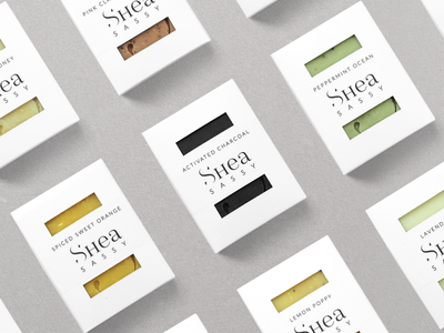 Shea Sassy Packaging behance identity design brand identity branding packaging design packaging