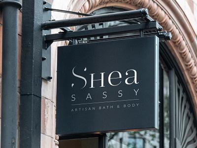 Shea Sassy Sign mockups branding identity behance identity design design graphic design branding