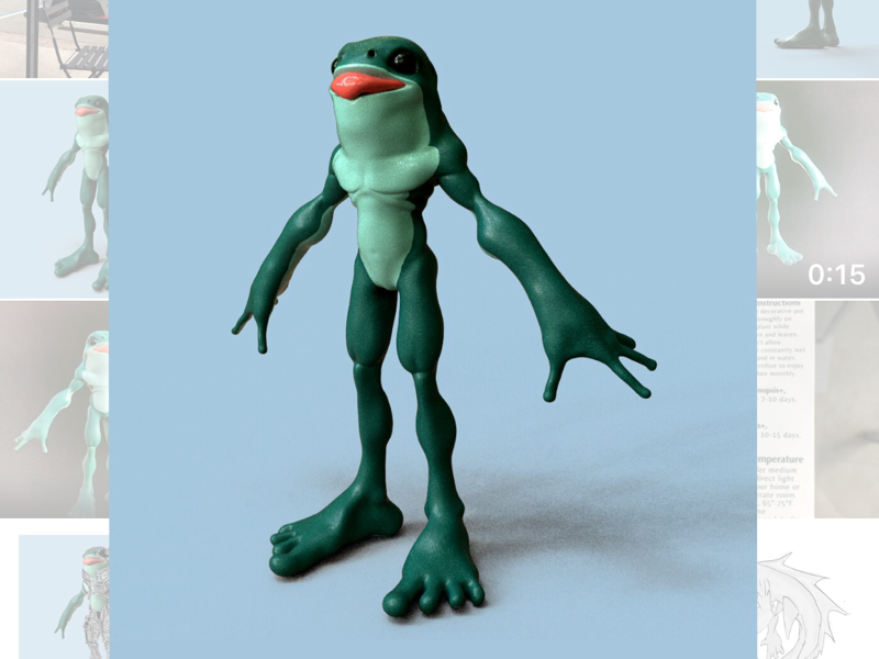 Sapito procreate juliosalvat scifi conceptart digital3d 3d fantasy creature creaturedesign conceptdesign characterdesign uv maya pixologic sculpt substancepainter zbrush