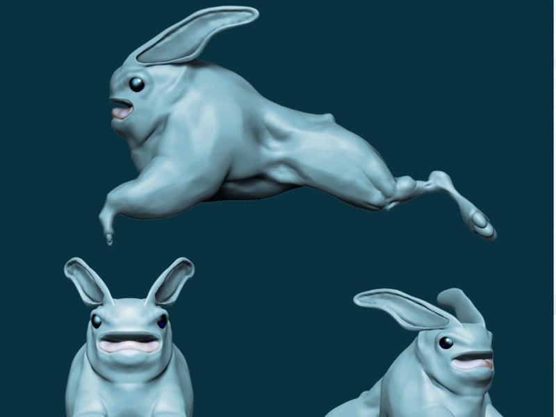Rabo procreate juliosalvat scifi conceptart digital3d 3d fantasy creature creaturedesign conceptdesign characterdesign uv maya pixologic sculpt substancepainter zbrush