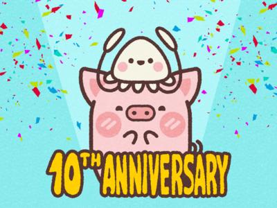10ᵗʰ Anniversary S&P