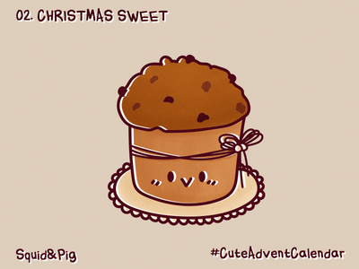 02. Christmas Sweet #CuteAdventCalendar