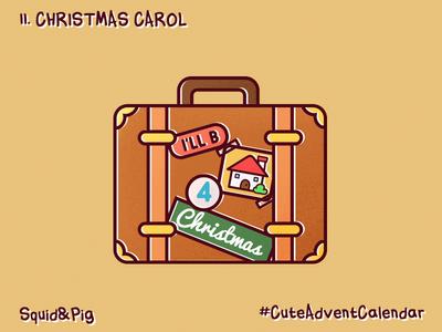 11. Christmas carol #CuteAdventCalendar