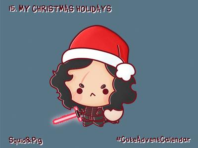 15. My Christmas holidays #CuteAdventCalendar