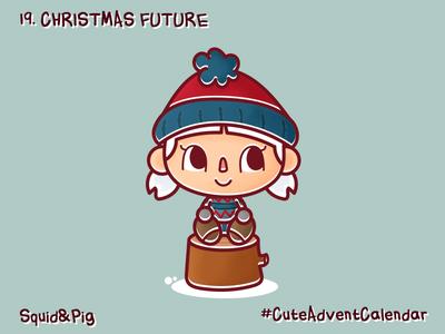 19. Christmas future #CuteAdventCalendar