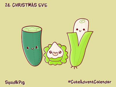 24. Christmas Eve #CuteAdventCalendar