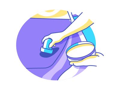 Icon wax