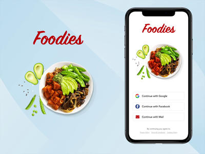Food Delivery App -Beginner restaurant app delivery app ui  ux ux uxui ui beginner mobile app android mobile ios interaction flow login signup signin payment food red animation