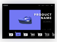 Product Slider Dark