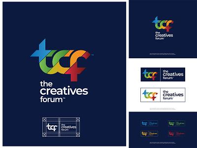 The Creatives forum Logo design lettermark logo lettermark typogaphy photography ux ui brand design design brandidentity branding logos logodesign logotype logo forum creativelogo creative design creativity creative