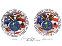 #TBT JFKSG Compatre logo Vector Redraw