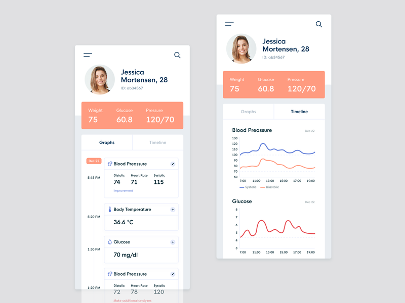 Healthcare mobile app physician doctor app healthcare app data health ux design user experience ui ux product informal mobi interace medical app medical analytics app concept app web