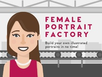 Portrait factory 01