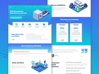 Data Recovery Landing Page