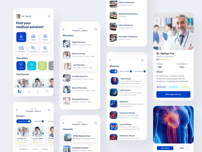 Medicare medical apps Redesign lifestyle healthcare healthcare app apps hospital apps hospital medical apps doctors mobile ios app design