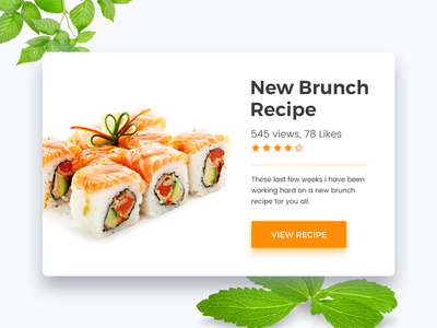 Day 11 Recipe icon apps dribbblebestshot recipe 90daysui freeuikit freepsd