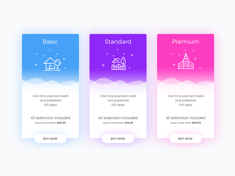 Day 23 - Pricing Table ui pricing price icon dailyui daily challenge card app