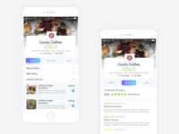 Customer Reviews Screen