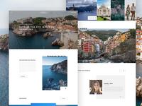 Travel Landing page Design
