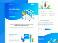 Landing page  for DigitalTech