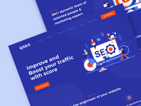 Landing page  for QSO