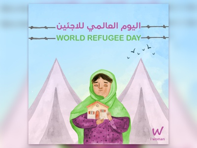 social media psot refugees refugee woman design social media social post media branding