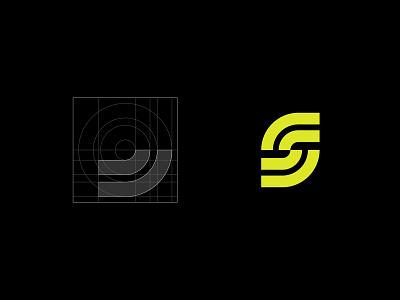Speedlymate brand race street track app cars auto racing badge branding creative identity logo mark vector icon grid minimalist speed