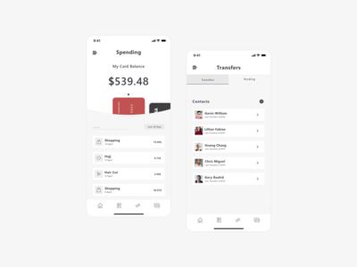 Bank App - UI/UX Design