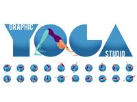 Graphic Yoga Studio