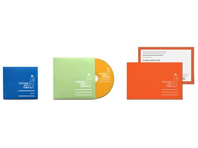 Audio guide brand identity brand branding