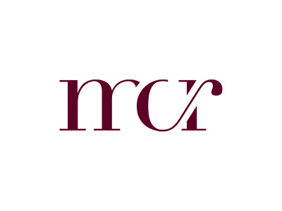 Mcr Logo typography brand branding design logo