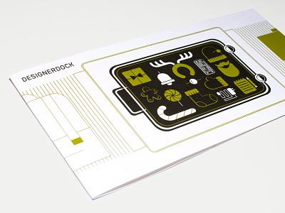 Designerdock X-Mas Card illustration vector icon