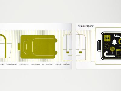 Designerdock X-Mas Card airport christmas design illustration vector icon