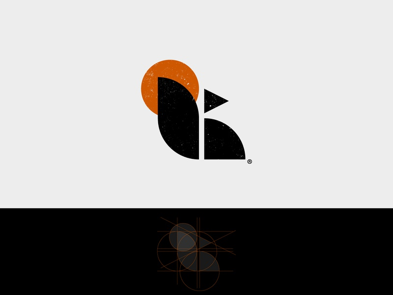 Sun Squirrel emblem logo design concept symbol sun smart mark grid minimal vintage rustic squirrel logo design logo design animal branding and identity branding adobe illustrator adobe