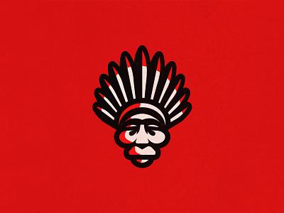 Native graphic design logotype clean mascot icon symbol mark vintage indian american creative vector illustration design logos adobe illustrator adobe branding logo designer logo design logo