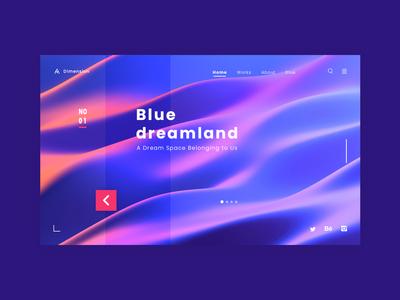 Blue dreamland
