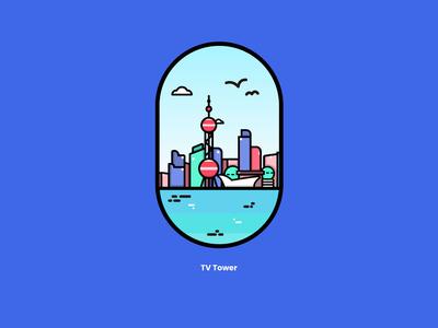 TV Tower —— China Shang Hai