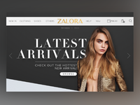 Zalora - Website Redesign