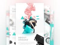 ANDANZ - Brand Identity Design