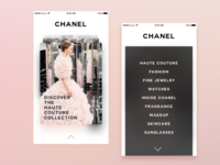 Chanel - Mobile App