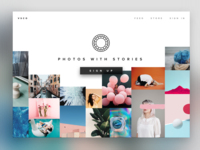 VSCO - Landing Page Redesign