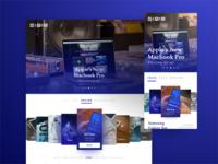 News Website Design - UI/UX