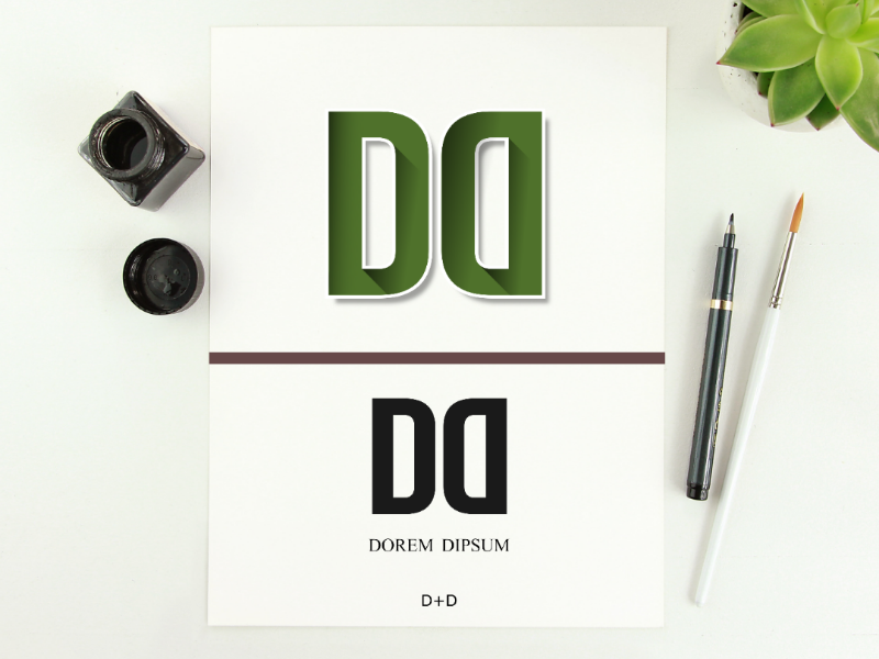 Logo Letter D Or Dd By Ahmad Nawawi On Dribbble
