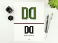 Logo Letter D or DD