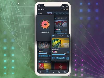 Ad App UI app design icon ui web ios guide android app design app design illustration skeumorphism ux design uxui ux  ui uiux ui design uidesign figma dark mode soft ui neomorphism neomorphic ui ux illustrator